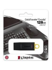 PENDRIVE KINGSTON 128GB USB 3.2  EXODIA