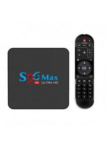 TV BOX S96 MAX RK3318 4GB 32GB A9.0