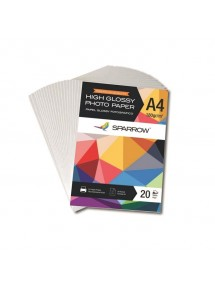 PAPEL FOTO GLOSSY MAGNETIC A4 650GRS X 5